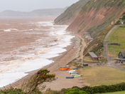 RECENT STORM AT BRANSCOMBE