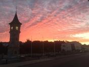 Sunrise over Exmouth