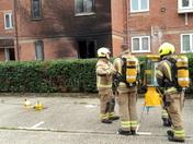 Westfield Close fire