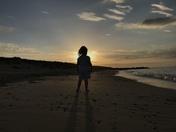 Sunset at Waxham