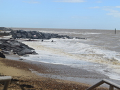 Rough Sea at Felixstowe.