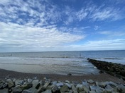 The beautiful Beach at Sheringham
