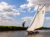 Project 52  Sailing on the River Thurne