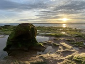 'Golden Hour' at Orcombe Point, Exmouth