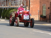 The Pink Ladies Road Tractor Run