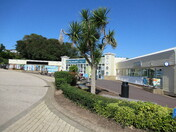 Sandy Bay holiday park shopping centre area