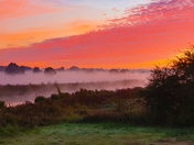 Sunrise over beccles
