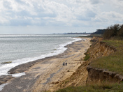 View from covehithe cliff
