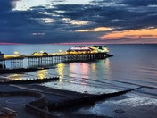 Summer night in Cromer