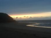 Dawn on Exmouth shores