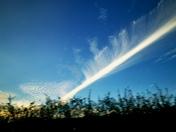Beautiful sky cloud