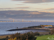 Battery Point Portishead and the Severn bridges