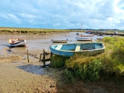 HIGH AND DRY AT MORSTON QUAY