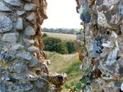 THICK WALLS OF CASTLE ACRE CASTLE