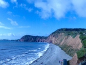 Jacob's Ladder Beach in the morning