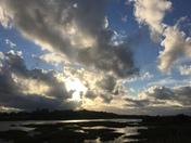 Majestic skies over martlesham creek