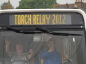 Olympic Torch Huntingdon