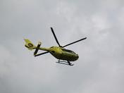 Air Ambulance/Emergency Services Needingworth 21/4/12