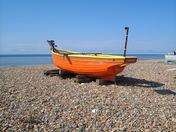 fishing boat  at worthing