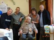 Herbert William George Palfrey is 100