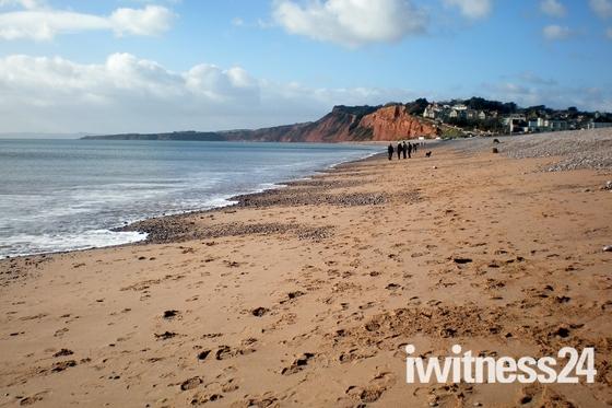 Sandy Budleigh beach