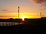 Sun-set in beautiful Exmouth
