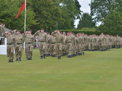 Royal Wessex Yeomanry on Parade