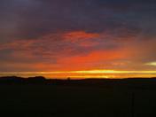 Sunset over Abbotsham