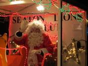Father Christmas comes to Seaton