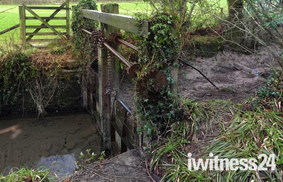 Stags Head Sluice Gate