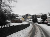 Brayford village snow, 18th January 2013