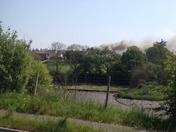 BIDEFORD ROOF FIRE