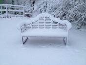 Gittisham in the snow