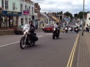 Volunteer ride out