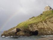 Lantern Hill rainbow