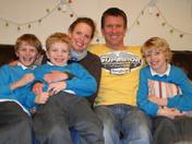 Bideford family in Africa