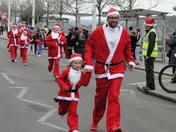 Bideford's Santa Fun Run