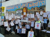 Westward Ho! residents protest against Tesco Plans