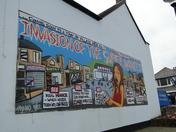 Mau Mau mural in Westward Ho!