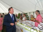 David Cameron at the North Devon Show