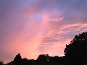 Sunset over Braunton