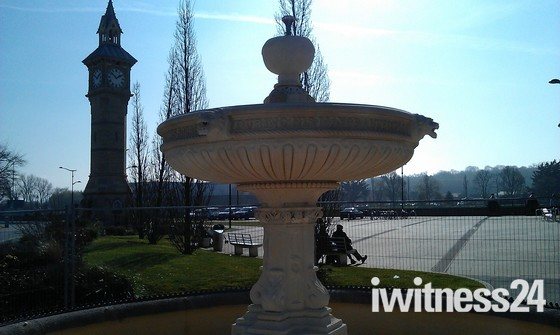 Makeover for old fountain