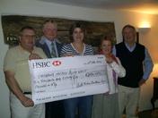 South Molton Fatstock cheque