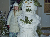 Emilia's snowman