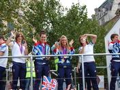 Laura Trott Athletes parade