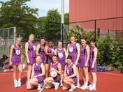 Hatfield Netball Club Hawks win playoffs