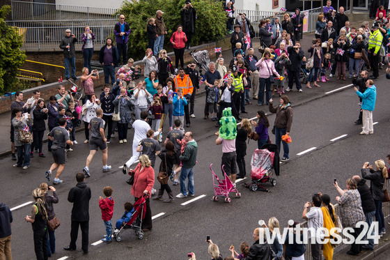 Olympic Torch Parade in Stevenage