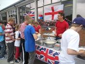 Queen's Diamond Jubilee celebration at Etonbury Academy