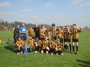 Lemsford Leopards U12s Romp to Divisional Title.
