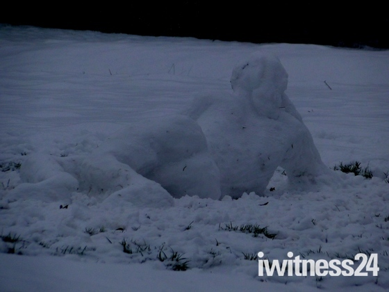 Reclining Snow Maiden